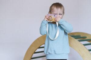 Handmade Pullover Kuschelkind von GROW&FLY
