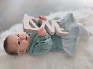 Handgenähte Babykleidung von GROW & FLY