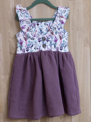 Kleid Kinder Musselin Sommer
